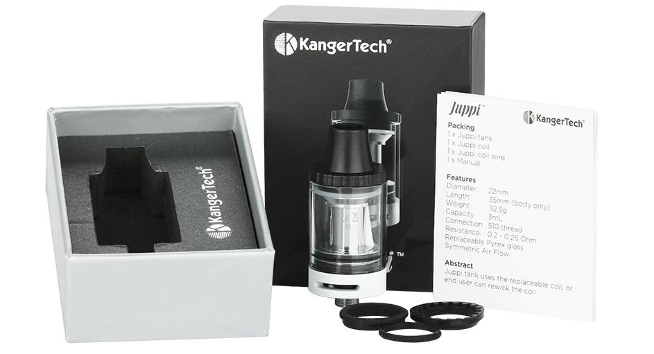 Kangertech JUPPI Tank 3ml Atomizer