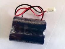 5PCS/LOT New Genuine Maxell CR17450 3v CR17450(3v) 2 combination 1250mah Battery PLC Batteries with plug