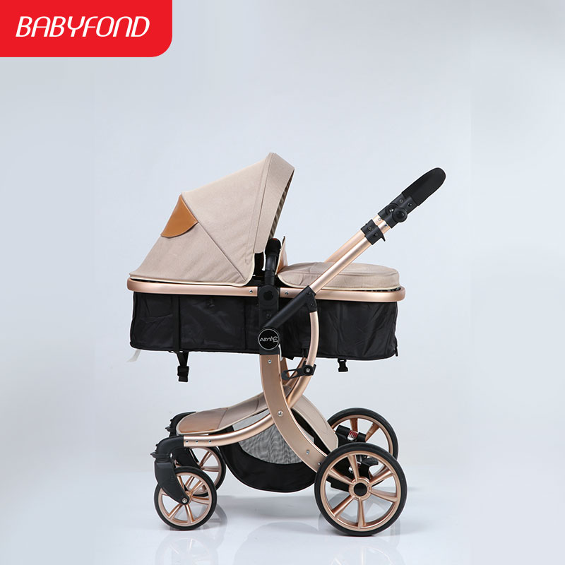 2 in 1 Baby Stroller Light Folding Two-way Shock Absorbers Baby Stroller with Four Wheel Accessories European Baby Strollers baby stroller baby stroller shock absorbers light folding stroller 4runner