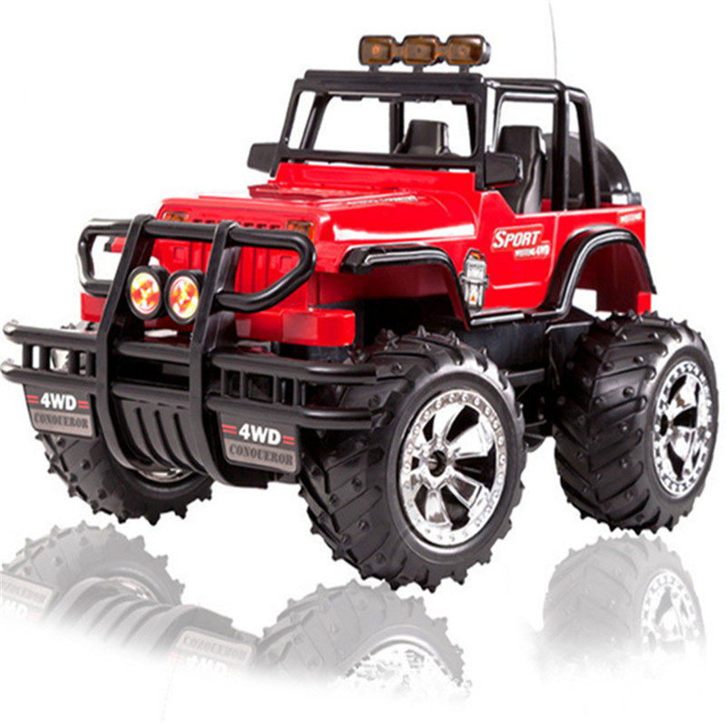 Large Off-road Race Car 1/12 4WD Rock Crawlers 4x4 Driving truck Double Motors Bigfoot Remote Control Car Model Vehicle Toy gift цена