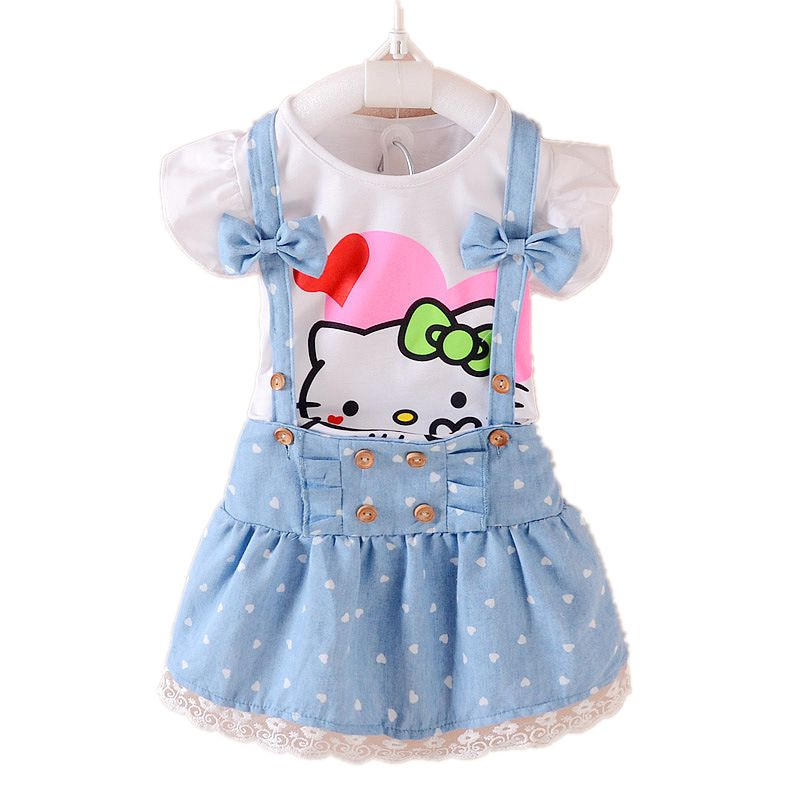 Hello-Kitty-Girls-Dress-Dresses-Kids-Girls-clothes-Children-clothing-Summer-2017-Toddler-girl-clothing-Sets-Casual-Fashion-T569-1