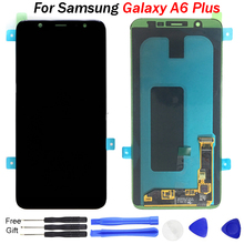 For SAMSUNG A6 Plus lcd display screen replacement for Galaxy 2018 A605 LCD Screen Touch Digitizer Assembly