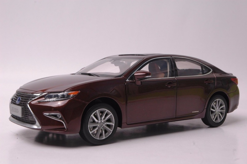 1:18 литья под давлением модели для Lexus ES 300 h 2015 Amber седан сплава игрушечный автомобиль миниатюрный коллекция подарок ES300h ES300 Toyota