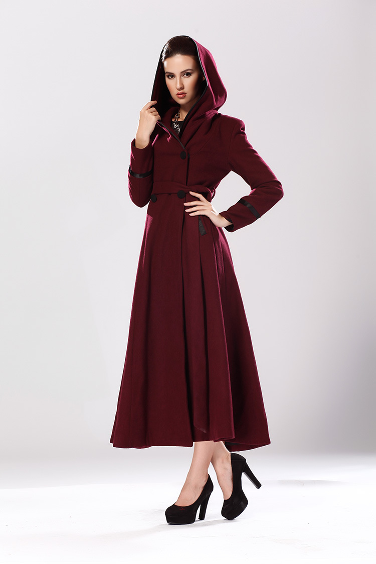 Full Length Dress Coat Fashion Women S Coat 2017
