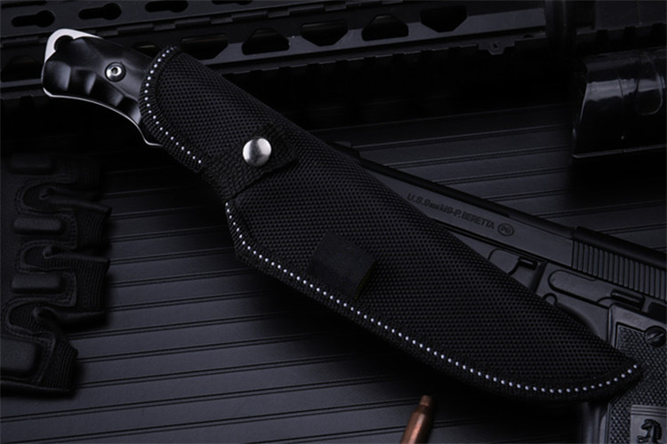 Купить с кэшбэком 2020 New Free Shipping Outdoor Fixed Tactical Hunting Knife High Quality Pocket Camping Survival Diving Military Knives Tools