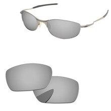 bbdf168c7d911 Cromo espejo de plata polarizadas lentes para cuerda floja gafas de sol  marco 100% UVA y UVB protección