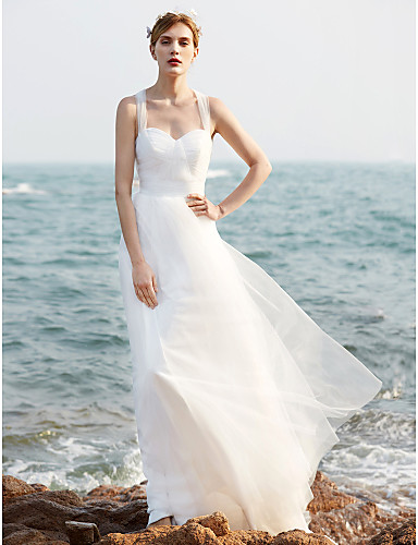 Свадебное платье просто и элегантно