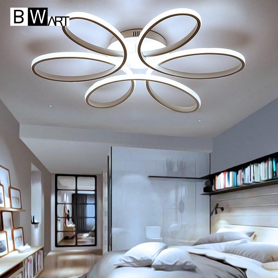 Produs Bwart New Modern Led Chandelier For Living Room Bedroom Dining Aluminum Body Indoor Home Lamp Lighting Fixture