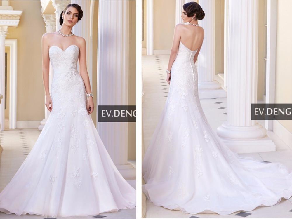 Robe De Mariage Lace Appliques Beading Casamento Vestido De Noiva Sweetheart Mermaid Hot Bridal Gown Mother Of The Bride Dresses