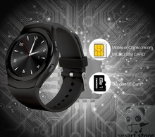 ใหม่วงกลมนาฬิกาIPS HDหน้าจอสมาร์ทนาฬิกาHRMจริงหัวใจอัตราสมาร์ทนาฬิกาบลูทูธเข้ากันได้A NdroidและIOSทั้งหมดs marโทรศัพท์