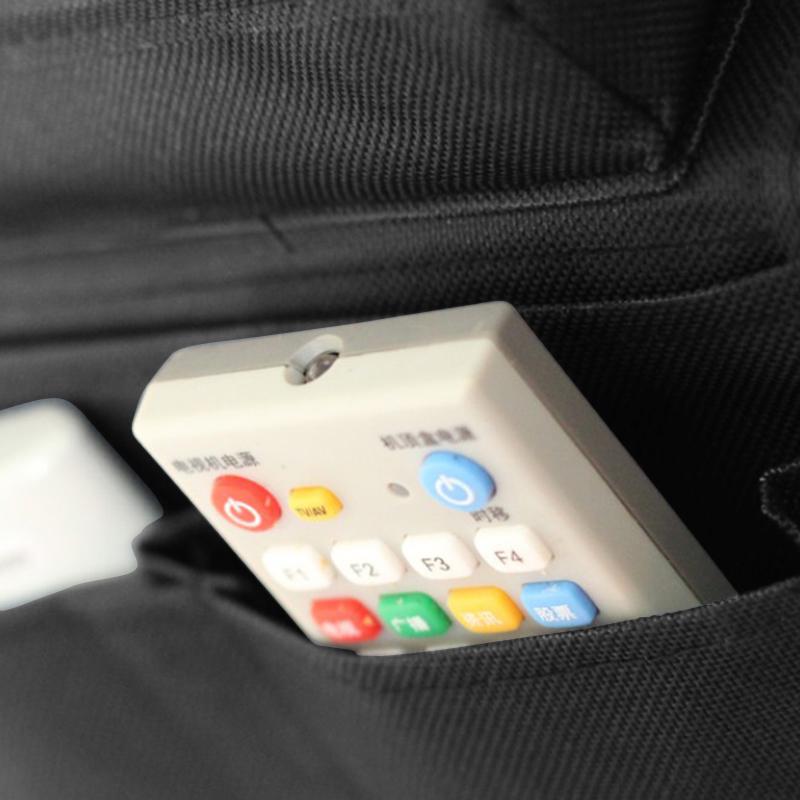 6 Pocket Couch Buddy Remote Control Holder Sofa Arm Rest Organizer Caddy Bag