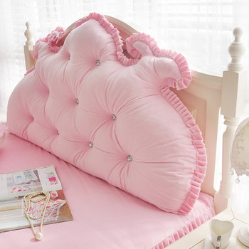 blue big pillow