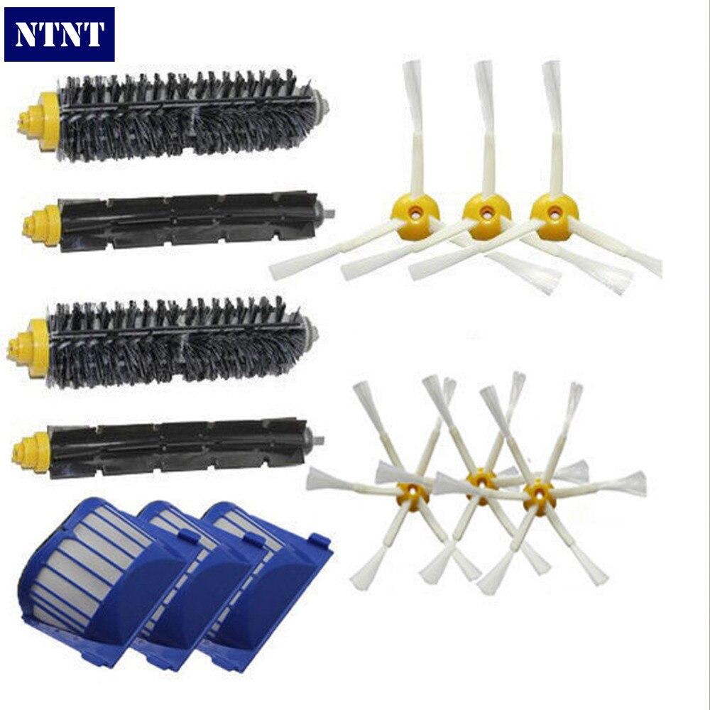 NTNT Free Post New Aero Vac Filters & Brush 3/6 arm for iRobot Roomba 600 Series 620 630 660 ntnt free shipping new 6 x brush 6 arms aero vac filter for irobot roomba 600 series 620 630 650 660