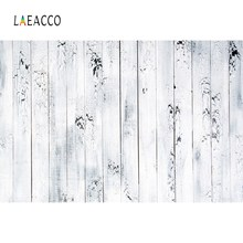 Laeacco Gray Planks Wooden Board Birthday Party Cake Food Child Portrait Photo Backdrops Photography Backgrounds Studio