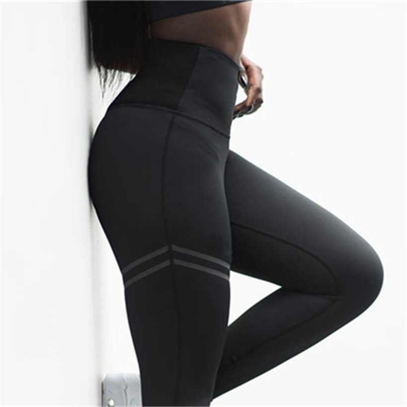Fitness   Leggings   Women Pants High Waist   Legging   Workout Sportswear Autumn Casual Trousers Elastic Push Up Leggins