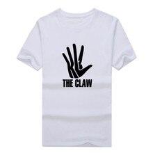 Hot Kawhi Leonard hands 2 logo T-shirt 100% cotton short sleeve fans cool printed o-neck T shirt 0112-22