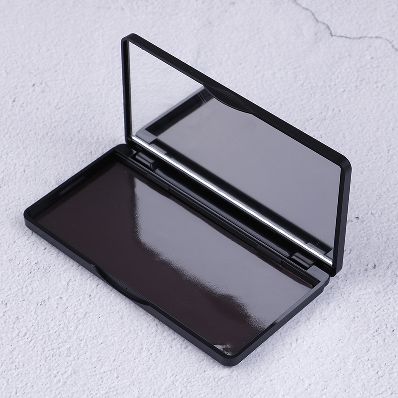 1pcs Makeup Dispensing Box Empty Magnetic Cosmetics Palette Eyeshadow Blusher DIY Makeup Box Storage 11.9* 6.2* 1cm