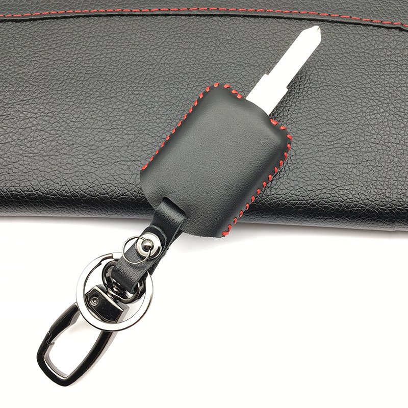 2 Buttons Hot Sale Genuine Leather Car Key Case Cover for Opel Astra H J g Zafira Vectra Corsa Insignia Mokka Protect Shell