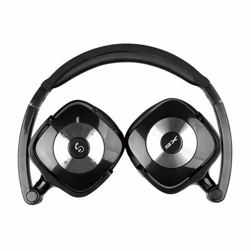 Salar X5 składane bezprzewodowy zestaw słuchawkowy Bluetooth HiFi Stereo Gaming słuchawki z mikrofonem dla komputer stancjonarny