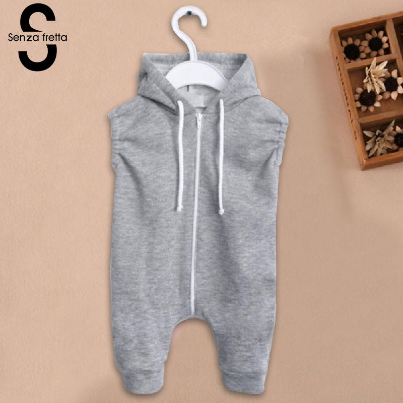 Senza-Fretta-Gray-Zipper-Conjoined-Jeans-With-Rabbit-Ears-Hooded-Sweater-Baby-girlBoys-Sweaters-Ins-Hot-Sale-Hoodies-For-baby-2
