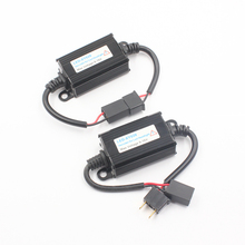 H1 H3 H4 H7 H8 H11 9005 9006 светодиодный головной светильник декодер Предупреждение компенсатор компенсаторы Автомобильный светодиодный налобный фонарь Canbus Error Free нагрузочный резистор