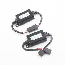 цена на H1 H3 H4 H7 H8 H11 9005 9006 LED Head Light Decoder Warning Canceler Cancellers Car LED Headlamp Canbus Error Free Load Resistor