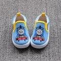 2016 Новый Томас Поезд Холст Детская Обувь, Мягкие Детская Обувь Мальчиков, Девочек Обувь, Обувь Мальчиков Кроссовки, Chanssure Enfant, Теннис Infantil