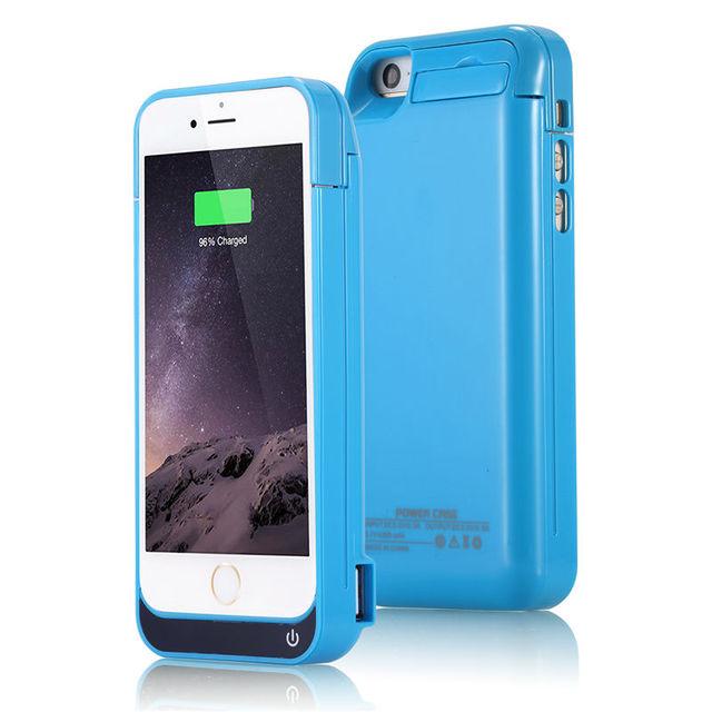 4200 mAh 5 s Batterie Ladegerät Fall für iPhone 5C 5 5 s SE USB Power Bank Pack Stehen Power fall Backup Lade Zurück abdeckung