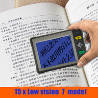 Low Vision 3.5 Inch LCD Digital Pocket Portable Handheld Microscope Reading Aid Electronic Video Magnifier