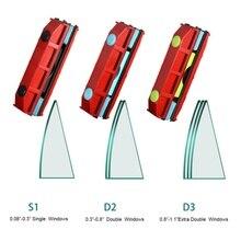 Двусторонний магнит очиститель окон подходит для 20-28 мм двойное толстое стекло для дома и офиса стекло чистые инструменты удобно