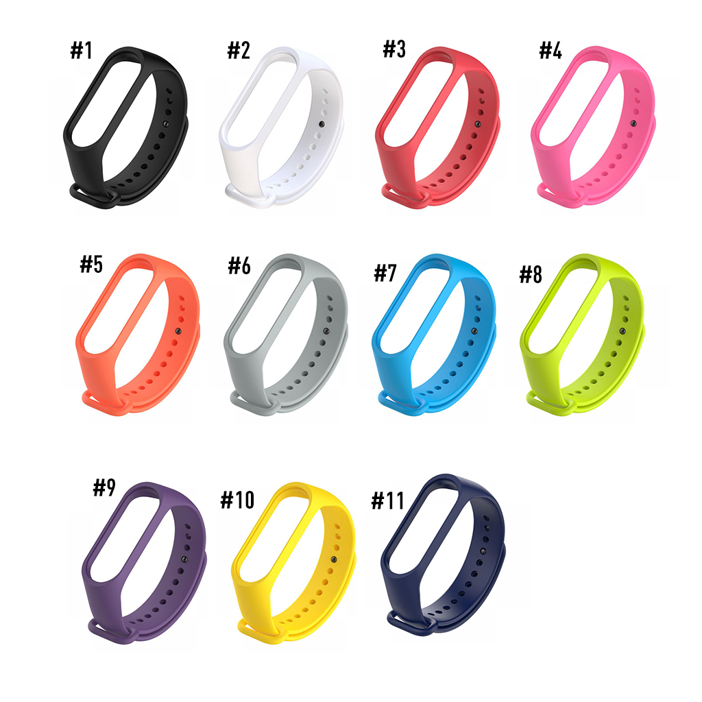 Strap For Xiaomi Mi Band3 Colorful Replacment For Xiaomi Mi Band 3 Smart Wristband Strap Spot Straps For Mi Band 3