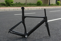 Aero Carbon Bike Frame Full Carbon Road Bicycle Frames Racing Bike Frameset BB30