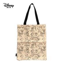 Брендовая сумка Дисней, сумка для мамы, Холщовая Сумка для мамы, мультяшная сумка для отдыха, Дисней, Микки Маус, сумки для девочек, подарки
