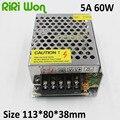 RiRi Ganado 2A 3A 5A 10A 12 V transformador de la iluminación de Pequeño Volumen sola Salida de 12 voltios Fuente De alimentación Conmutada para la Tira LLEVADA luz