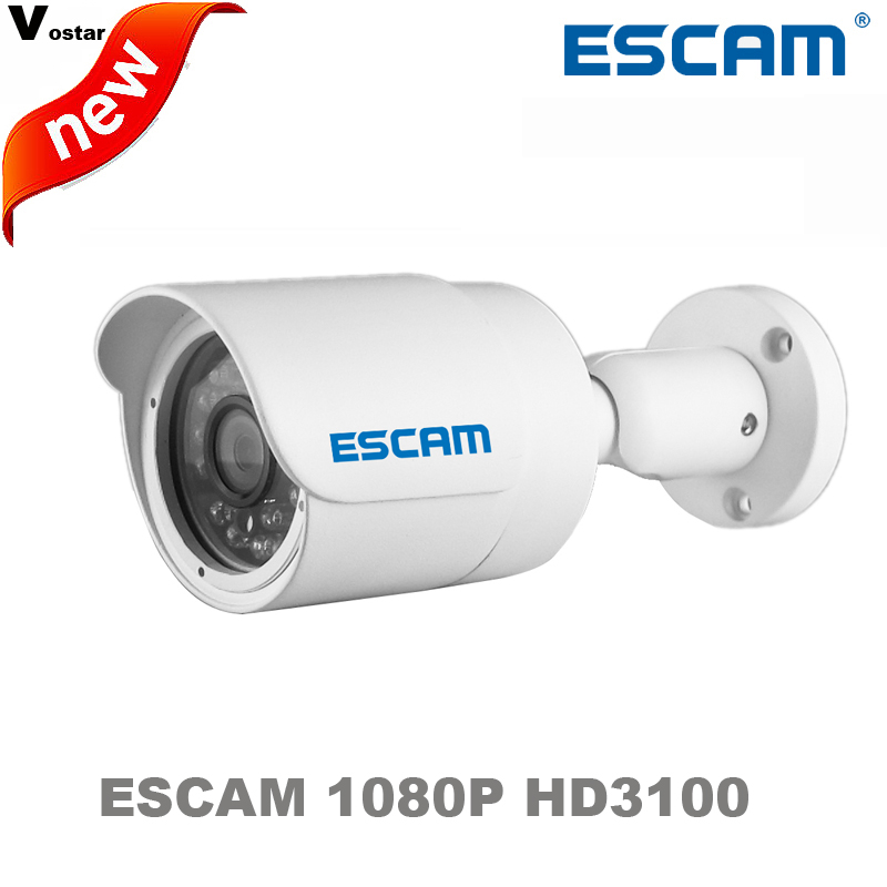 ESCAM HD3100 1080P outdoor night vision waterproof Onvif IR IP66 Waterproof IR 20M MINI Bullet IP