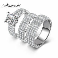 50affb5bd71f8 Popular Ring Couple Stone 925 Sterling Silver-Buy Cheap Ring Couple ...