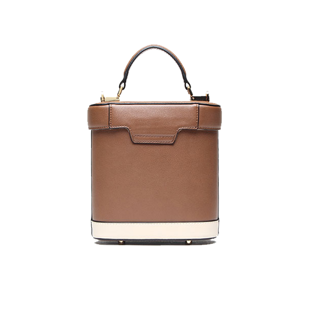 2018 Autumn Winter New Fashion Bucket Bag Vintage Medicine Portable Single Shoulder Women S Messenger Panelled Elegant In Top Handle Bags From