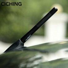 Antena do carro WRC Fibra de Carbono estilo para MAX Daihatsu Mira Mira Gino Sonica Sirion Terios Trevi para Cadillac SRX XTS ATS CTS