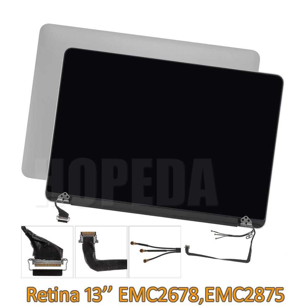 Pour Apple MacBook Pro 13 Retina Ensemble Complet D'affichage A1502 LCD Écran EMC2678 Fin 2013, EMC2875 Mi 2014