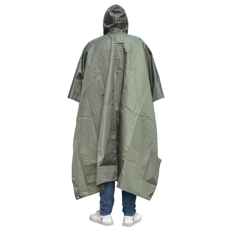 Poncho Travel Portable Triple Raincoat Women Men Poncho Outdoor Hiking Fishing Mountaineering Cycling Versatile Raincoat