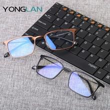 Yong Lan Men Computer Goggles Anti Blue Laser Ray Fatigue Radiation-resistant Glasses Eyeglasses Frame Eyewear new 1pc blue violet laser safety glasses laser protective goggles eyewear