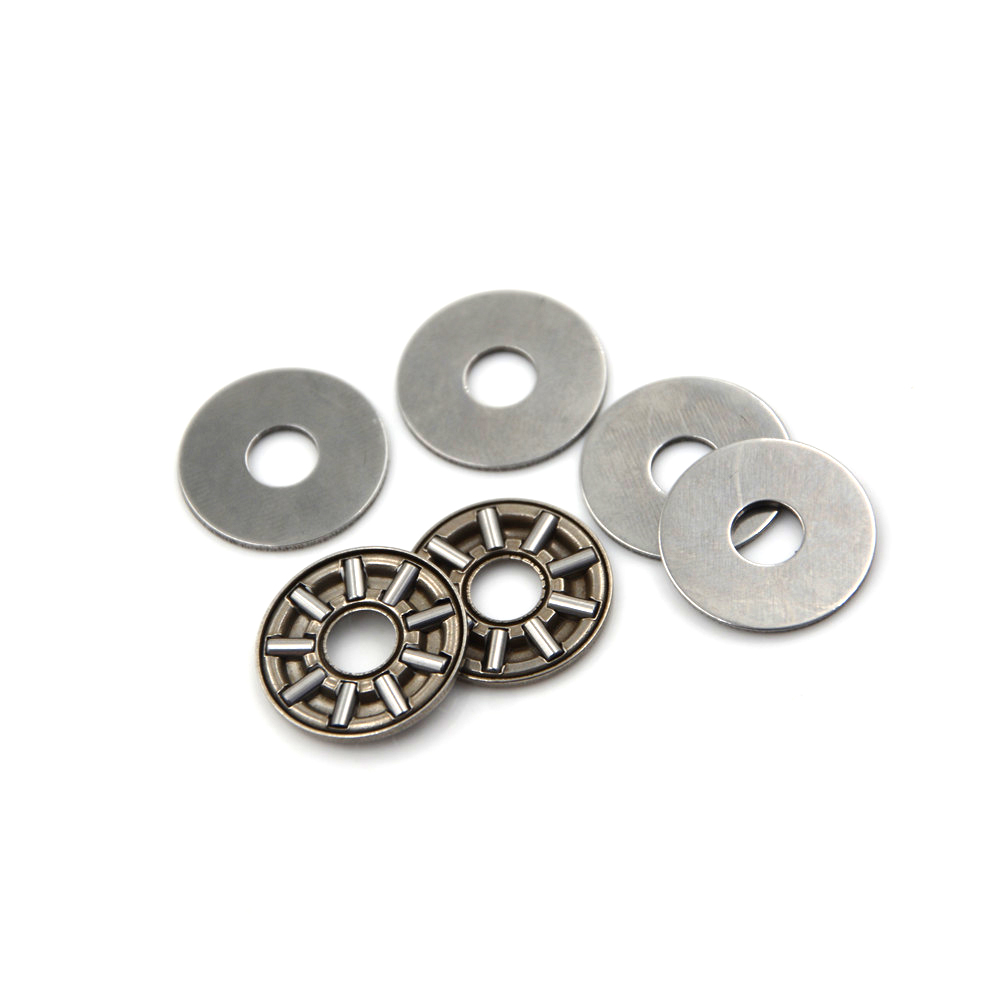 AXK2035 20x35x2 mm Thrust Needle Roller Bearing with Washers 10 PCS