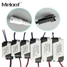 Controlador de corriente constante LED, 85 265V, 1 3W, 4 5W, 4 7W, 8 12W, 18 24W, salida de fuente de alimentación, 300mA, unidad externa para Downlight LED