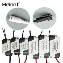 LED Konstantstrom treiber 85 265V 1 3W 4 5W 4 7W 8 12W 18 24W Netzteil Ausgang 300mA Externe Stick Für LED Downlight