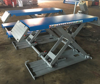 Removable Car Lift With Capacity 3000kg Portable Automatic Lifting Machine Small Scissor Lifting Platform