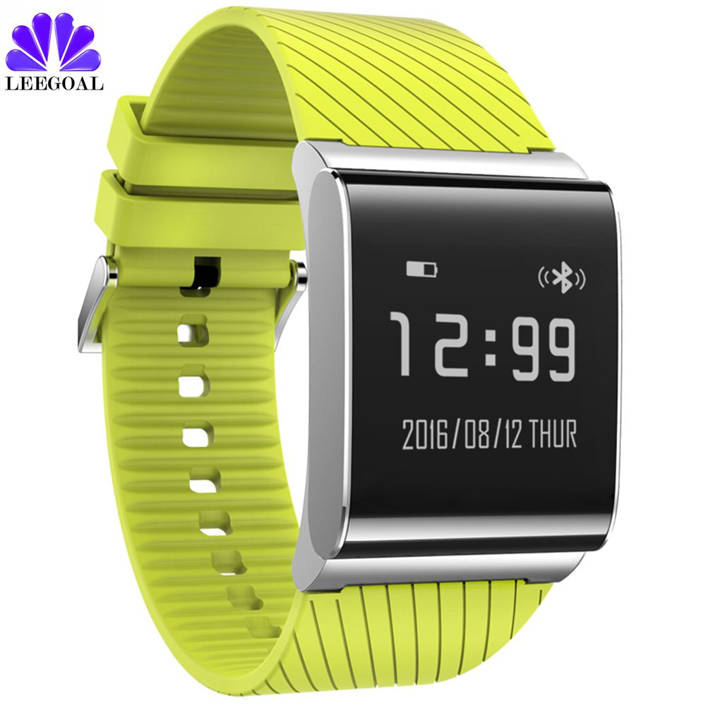 2017 X9 Plus Blood Pressure Smart Bracelet Bluetooth Watch Fitness Tracker Waterproof Smartwatch Band for Android