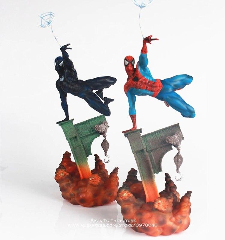 Disney Marvel Avengers Spider Man Squat 5cm Action Figure Posture Model Anime Decoration Collection Figurine Toys Model Children Toys & Hobbies