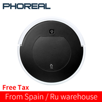 PhoReal FR 6 1000pa Suction aspirateur Robot Vacuum Cleaner Wireless Rechargeable odkurzacz Home mini Robot Cleaner stofzuiger