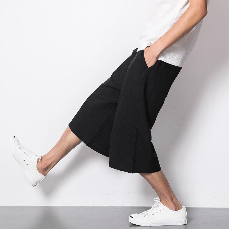 veau-longueur pantalon pour hommes pantalon large et ample - Vêtements pour hommes - Photo 2