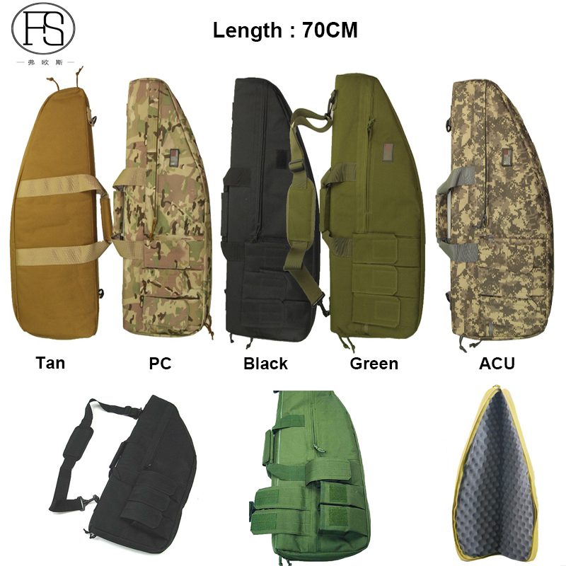 Tactical Rifle Holster Hand Carry High Quality Nylon Backpack For Hunting Rifle About 70cm Length Shooting Rifle Shoulder Bags